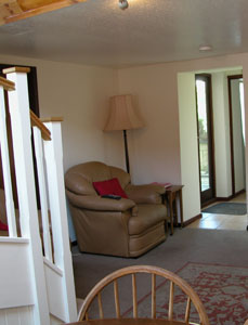 Self-catering cottage in watchet somerset Linhay dining area